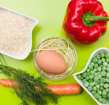 Papryka faszerowana ryżem iwarzywami